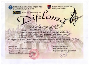 diploma olimpiada